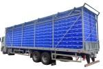 Carroceira para Transporte de Aves Vivas - 4º Eixo (600 caixas)